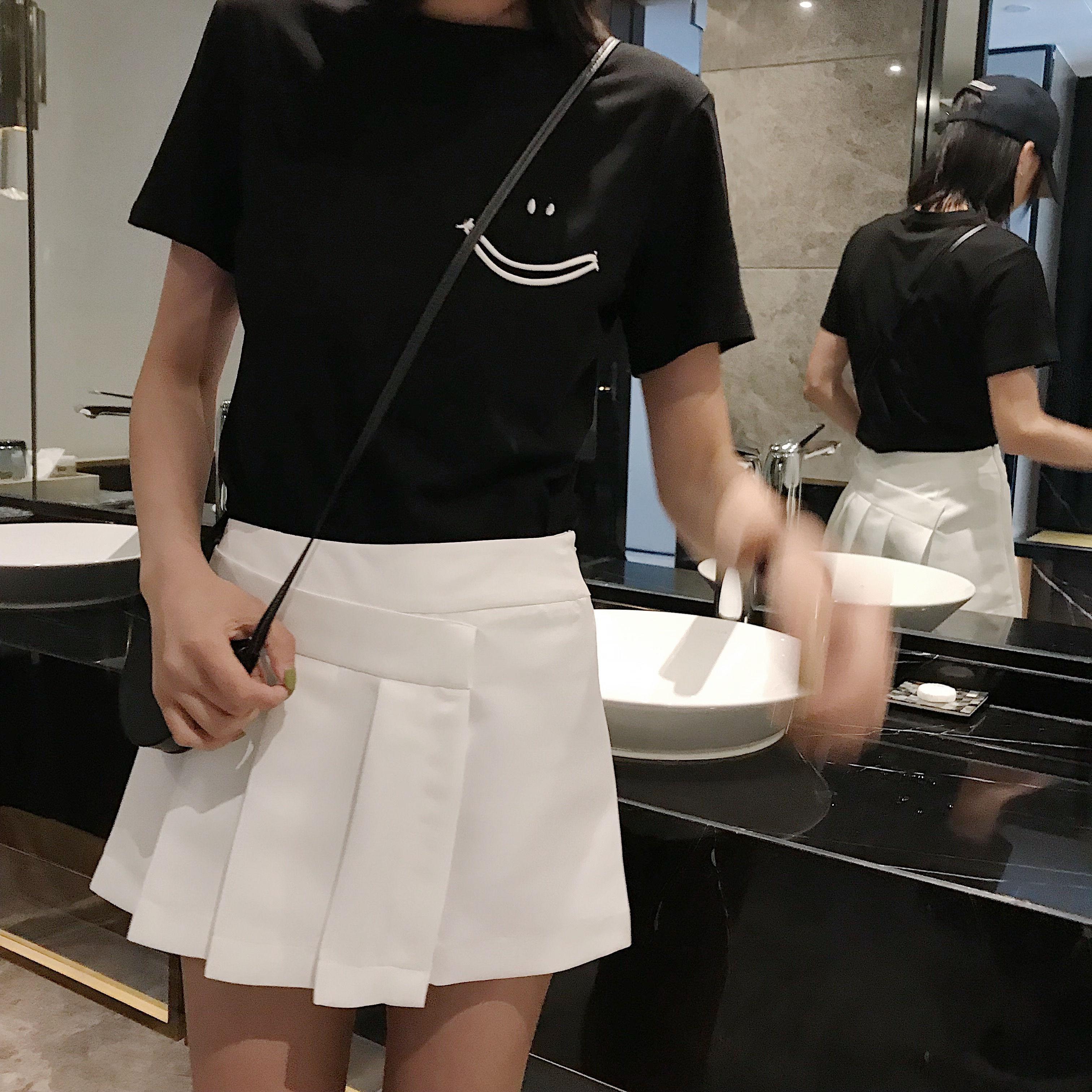 小舞家 半身裙女中长款2019新款夏季高腰百搭显瘦减龄