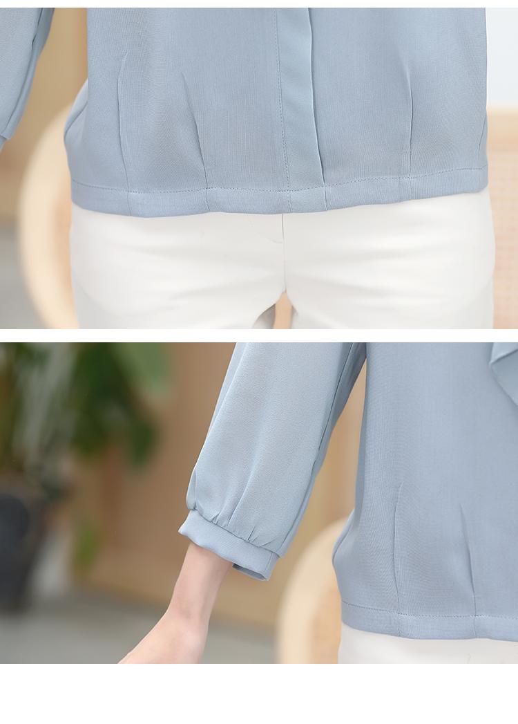 【新品特卖】妈妈春装套装洋气两件套2020新款长袖小衫中老年女装春秋