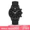 阿玛尼(EMPORIO.ARMANI)手表 皮制表带时尚休闲简约石英表男士腕表AR1970