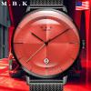 M.B.K欧美原装进口法拉利系列时尚男表全自动机械表 男士简约防水简约手表男潮流单日历腕表M1008-2F