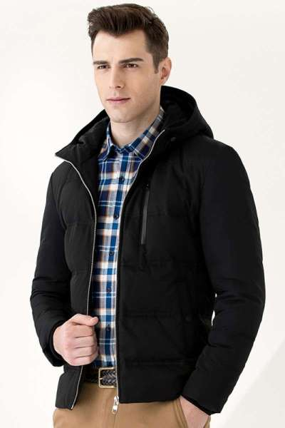 七匹狼羽绒服男轻薄短款冬季新款男士中年百搭爸爸装男装外套