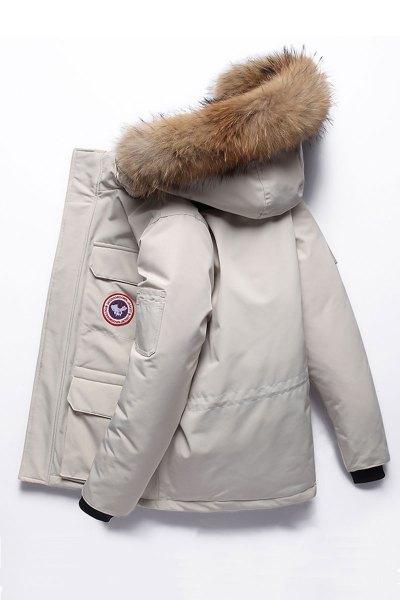 2019新款羽絨服男短款韓版潮流加拿大風工裝大毛領冬季白鴨絨迷彩外套